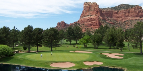 Featured Sedona Golf Course