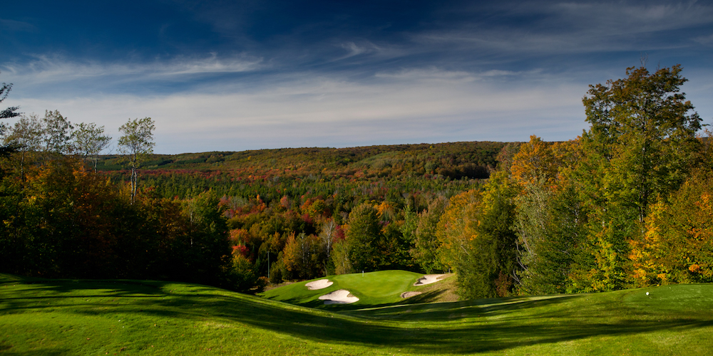 End the Golf Season Right with $99 Unlimited Golf from Treetops Resort in Gaylord, Michigan